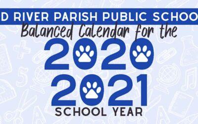 2020-2021 Balanced Calendar
