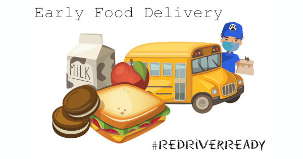 Early Food Delivery for Virtual Students
